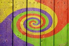 färgrik swirl för bakgrund Royaltyfri Bild