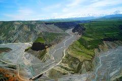 färgrik tusen dollar för kanjon Fotografering för Bildbyråer