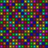 Färgrik upprepande bakgrund Arkivbild