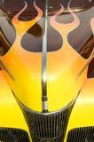 färgrik varm stång för bilar Fotografering för Bildbyråer