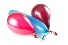 färgrika ballons Royaltyfria Foton