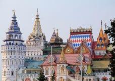 färgrika byggnader Arkivfoton