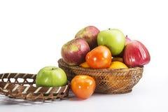 Färgrika frukter för blandning Arkivbild
