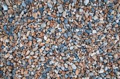 färgrika pebbles för bakgrund Arkivfoto