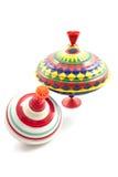 färgrika spinners Royaltyfri Fotografi