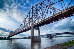 Früher Morgen Stadtbild von St. Louis Lizenzfreies Stockbild
