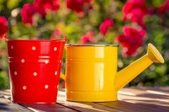 Frühjahr und Gartenarbeit Lizenzfreies Stockbild