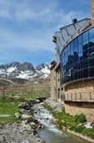 Frühlingsansicht von Andorra Lizenzfreies Stockfoto