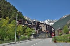 Frühlingsansicht von Andorra Lizenzfreie Stockfotografie
