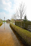 Frühlingsflut, Weißrussland Lizenzfreie Stockfotografie