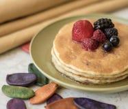 Frühstückspfannkuchen Stockfoto