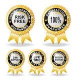 Fri garantigaranti för risk Arkivfoton