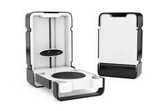 Fri stående modern bildläsare för skrivbordshem 3D framförande 3d Royaltyfri Fotografi