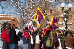 Fri Tibet mars Royaltyfria Foton
