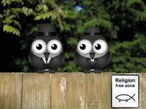 Fri zon för religion Arkivbild