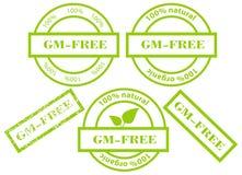fria gm-greenstämplar Fotografering för Bildbyråer