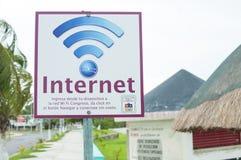 fria internet Fotografering för Bildbyråer