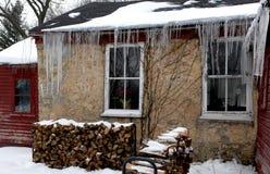Frialdad del invierno Fotos de archivo libres de regalías