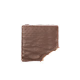 Friandise de gaufre de chocolat d'isolement Photos libres de droits