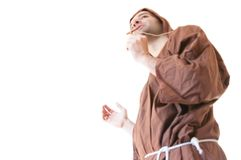 Friar franciscan Royalty Free Stock Photos