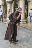 Friar on rolls Stock Photo