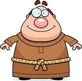 Friar Smiling. A cartoon friar smiling and happy Stock Photos