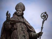 Friar statua Fotografia Royalty Free