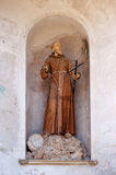 Friar statue Royalty Free Stock Photo