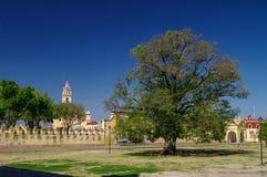 Friary Convento de San Gabriel Архангела St Gabriel, Cholul стоковые изображения rf