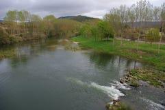 Frias风景,布尔戈斯,西班牙 免版税库存图片