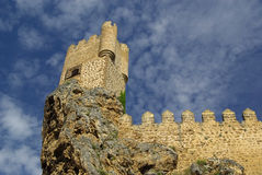 Frias castle Stock Image