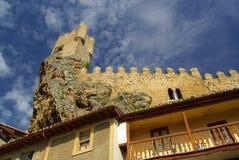 Frias castle Stock Images