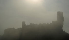 Frias castle Stock Photo