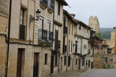 Frias medieval village, Burgos, Spain Royalty Free Stock Images