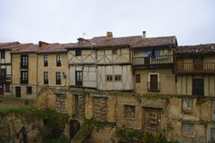 Frias medieval village, Burgos, Spain Royalty Free Stock Photography