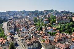 Fribourg全景  库存图片