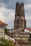 Fribourg Cathedral Royalty Free Stock Photo