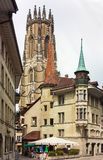 Fribourg Cathedral,Switzerland Stock Photography