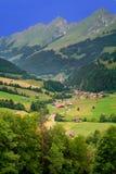 fribourg kantonu gruyeres w Szwajcarii Fotografia Royalty Free