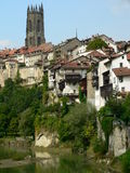 Fribourg ( Switzerland ). View of Fribourg city in Switzerland Royalty Free Stock Images