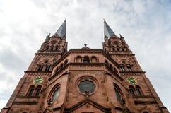 Friburgo Johanneskirche Immagine Stock