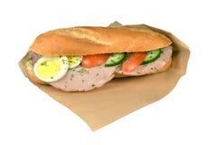 Fricandeau сандвича. Стоковое фото RF