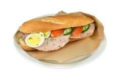 Fricandeau сандвича. Стоковая Фотография RF