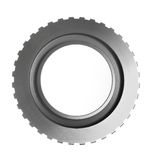 Friction clutch piston. For construction equipment Stock Photography