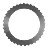 Friction clutch steel disc. For construction equipment Royalty Free Stock Images
