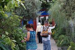 Frida Kahlo Art, jardim, vida 88 Foto de Stock