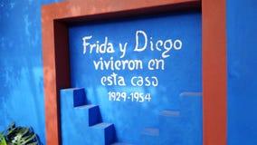 Frida Kahlo Art trädgård, livdel 2 11 Royaltyfria Foton