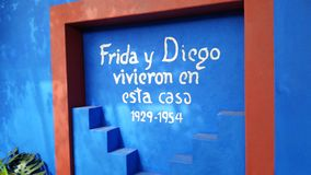 Frida Kahlo Art, Tuin, het Levensdeel 2 11 Royalty-vrije Stock Foto's