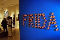 Frida Kahlo Ausstellung in Amerika Lizenzfreies Stockfoto