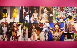 Frida Kahlo influencing world fashion stock images